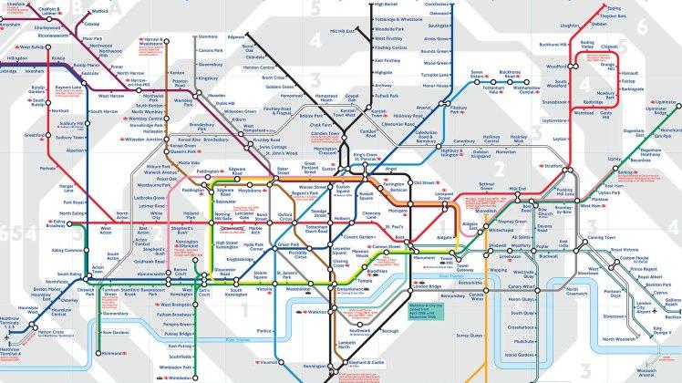 Mapa-de-las-líneas-de-metro-de-Londres-con-zonas